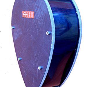 Sperrzonenbojen Aufrollsystem mit Arretierung